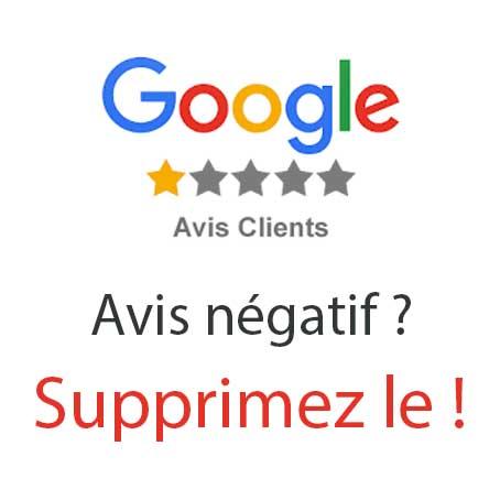 Comment supprimer les avis négatifs de Google ?